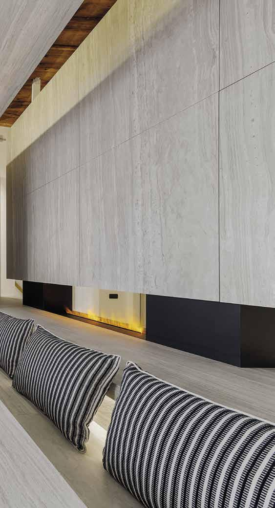 019 NEOLITH URBAN BOUTIQUE MILANO MILANO (ITALY) All Surfaces: Strata Argentum 6 &