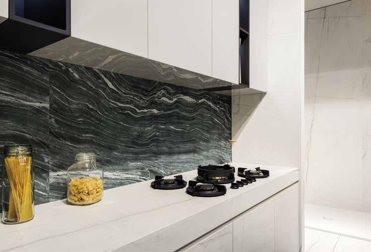039 MAISON OBJET 2019 PARIS (FRANCE) Kitchen Countertops & Cabinetry: Mont Blanc 6 & 12mm; Cabinetry: Luna
