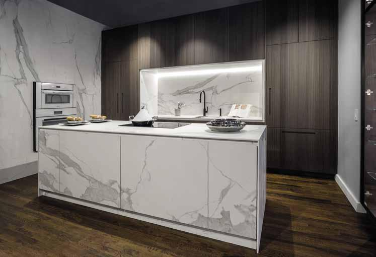 049 PRIVATE RESIDENCE NEW YORK CITY (USA) Island, Kitchen Countertop & Wall Cladding: