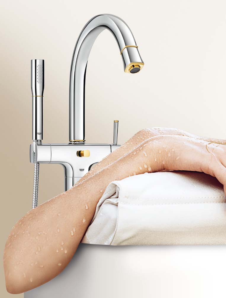 GROHE GRANDERA WELCOME HOME TM Timeless elegance comes from purity and harmony - GROHE Grandera blends