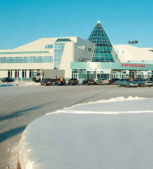 .. Khanty-Mansiysk International Airport which we have completed and