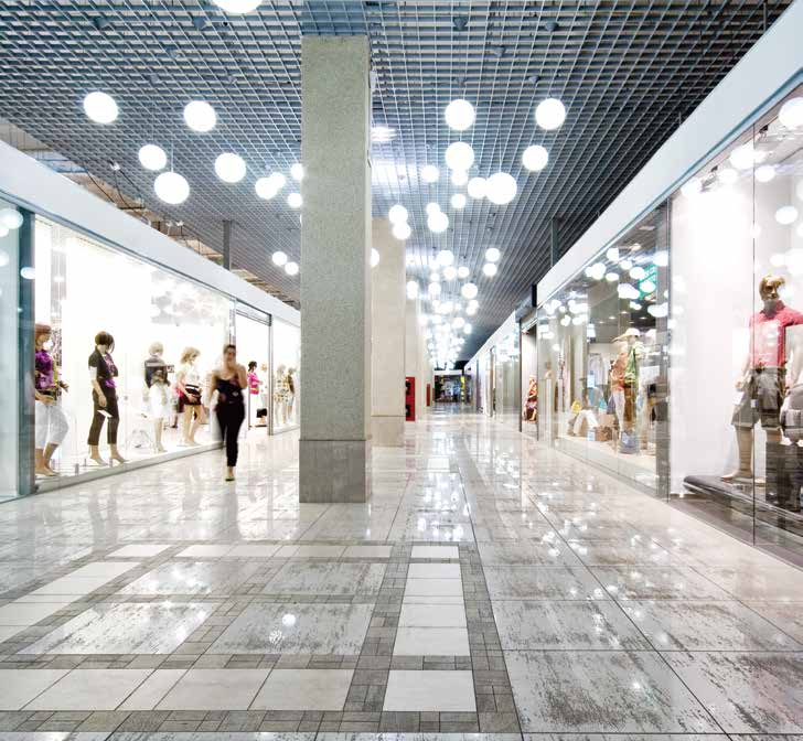 shopping malls for a more enjoyable world, and modern airports to make