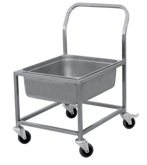 Produkt Name : Dish Collecting Trolley, S/S ) 057UMHGO30 ) 90 x