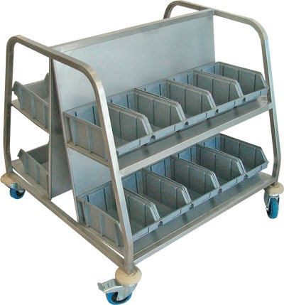 Arabası Produkt Name : Tray Collecting Trolley, S/S )