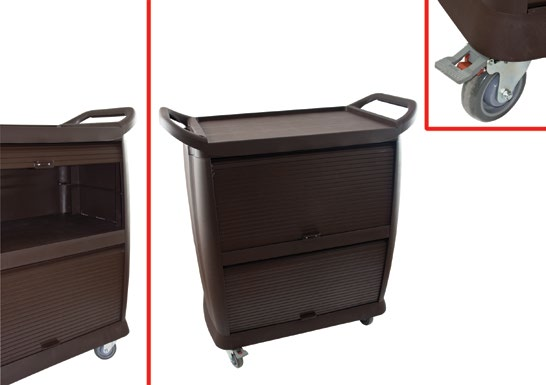 Coat Trolley ) 0570MMT00 ) RC330 ) L: 7.5 / W:70 / H: 97.