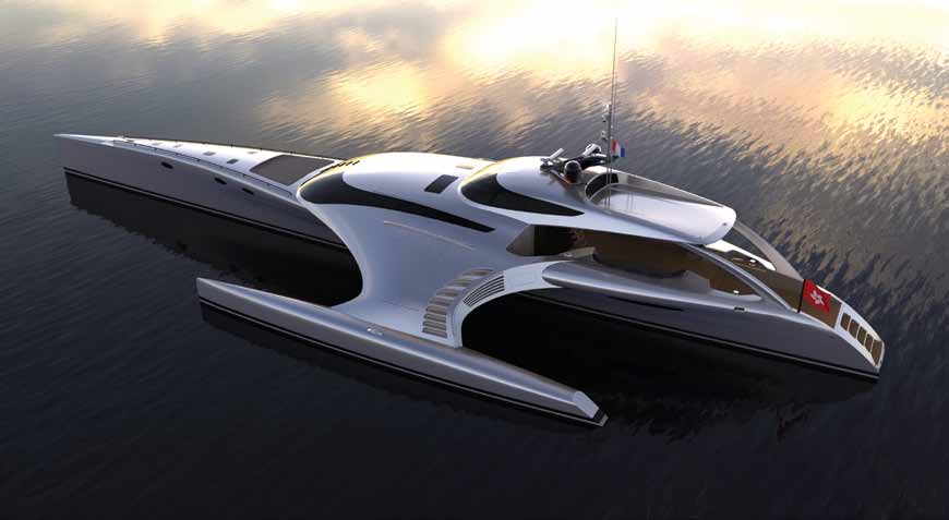 Gemi İnşaatı: John Shuttleworth Yacht Designs Ltd www.john-shuttleworth.com, Dış Tasarım: John Shuttleworth Yacht Designs Ltd ve Orion Shuttleworth Design Ltd www.