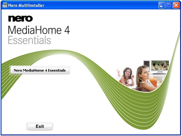 Appendix E: Nero MediaHome Installation This software is compatible with Windows XP and Windows 7.