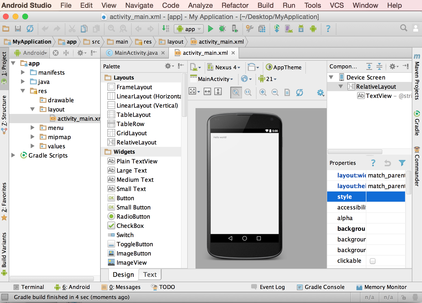 Android Studio Google Android Studio 1.