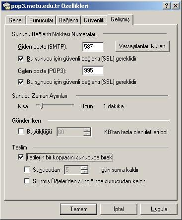 4. POP3 ve IMAP POP ya da POP3 (Post Office Protocol-Version 3) ve IMAP (Internet Message Access Protocol), bilgisayar üzerinden Outlook Express, Windows Mail, Windows Live Mail, Microsoft Outlook,