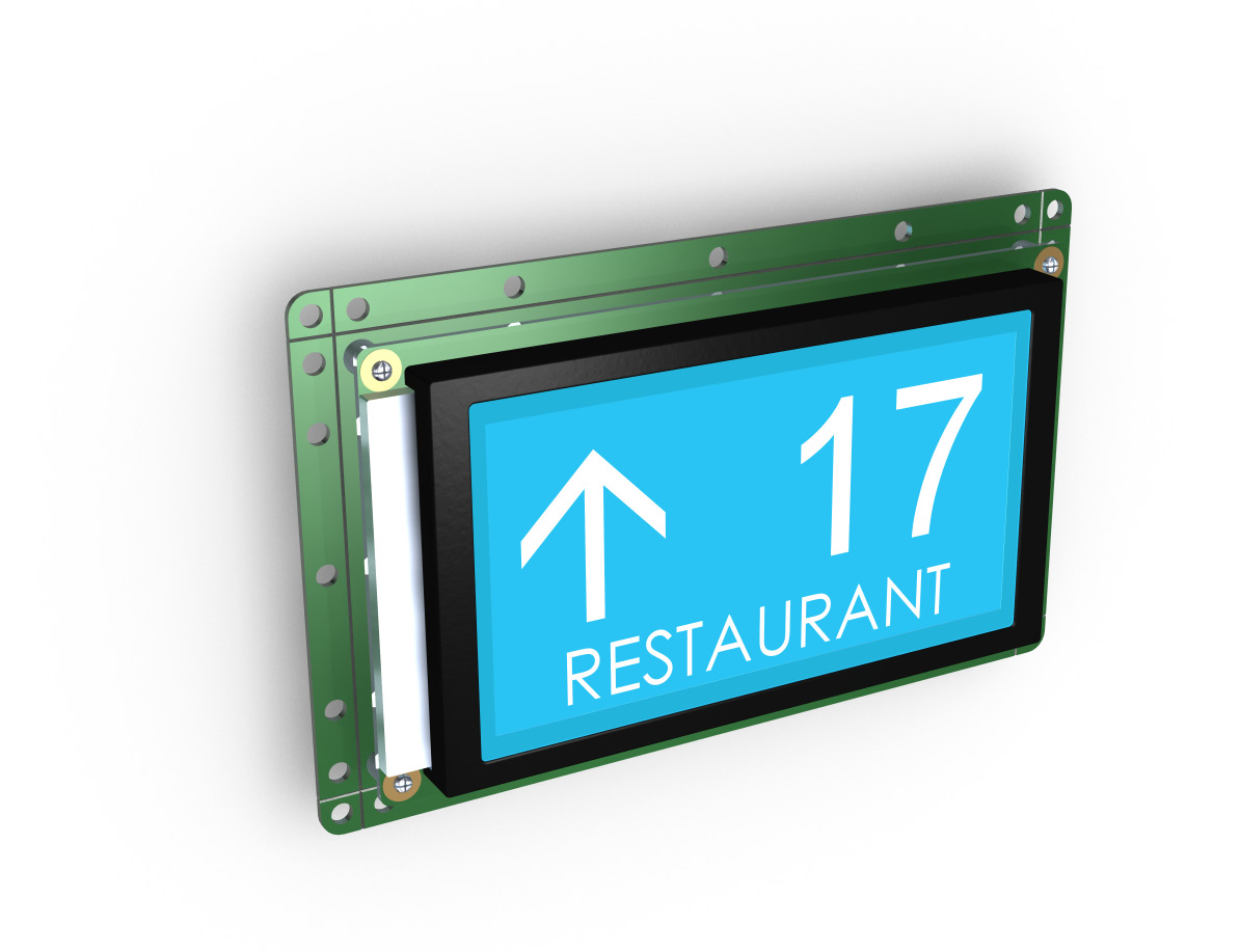 LCD graphics liquid crystal displays Take the advantages of the technology 6 different model and sizes Starting from 128x64 to 240x128pixel 70x40 to 114x64mm PLD series graphics LCD indicators are