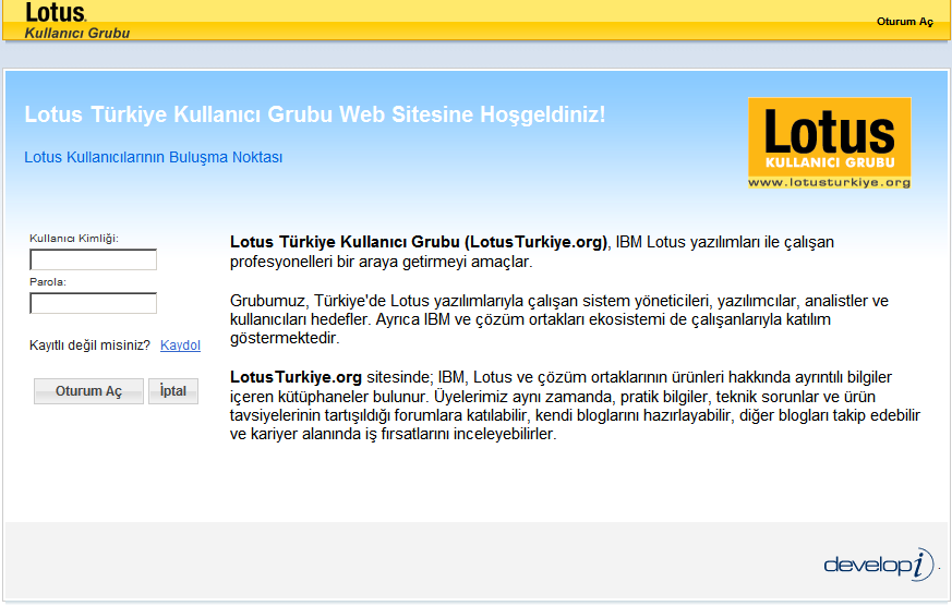 LotusTurkiye.org Lotus Quickr Services for Websphere Portal 8.