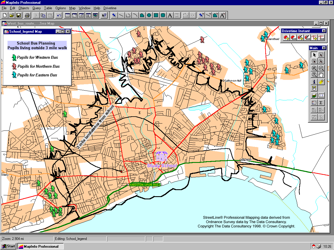 MapInfo Professional(v11.