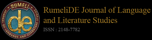 R u m e l i D E D i l v e E d e b i y a t A r a ş t ı r m a l a r ı D e r g i s i 2 0 1 5. 2 ( N i s a n ) / XI Dear Reader, EDITOR S NOTE The second issue of RumeliDE is published in April, 2015.
