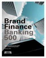 Ödüller & Başarılar Brand Finance Global Banking and Finance Review ~US$ 1.