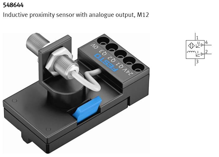 Inductive proximity sensor with anologue output M12 Inductive proximity sensor with anologue output, bobinden oluşan paralel rezonans devresinden oluşturulmuş bir osilatör, bir kapasitör ve bir