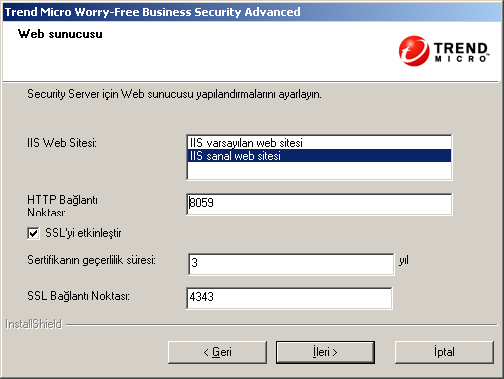 Trend Micro Worry-Free Business Security Advanced 6.