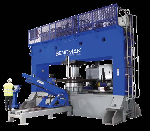 BMBP BOMBE PRESİ DISHING PRESS Kalınlık Thickness Max. çap Max.