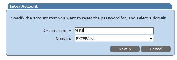 5/11 B.RESET PASSWORD When you forget your password, you can define a new password using Reset Password menu. B.1. To Reset your password select Reset on Screen-1.