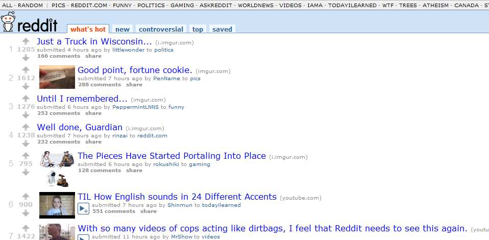 Reddit delicious Digg Bookmarklarimizi bile