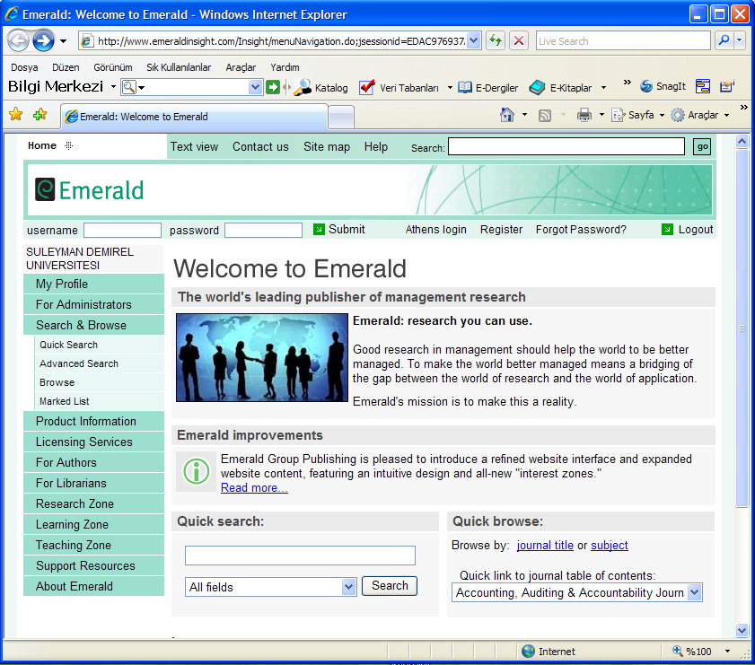 E-Bülten Sayfa 7 Emerald ManagementXtra http://www.emeraldinsight.com/insight/menunavigation.do?