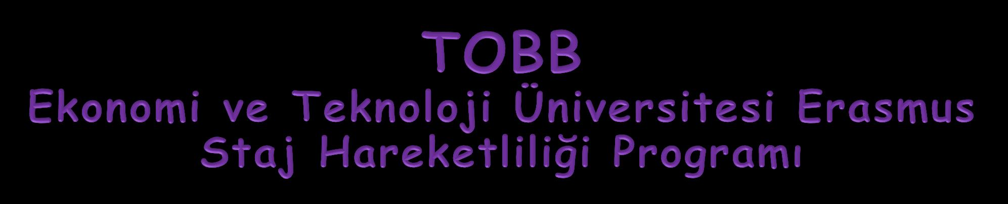 1 TOBB University of Economics and