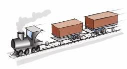 5 Weight of cargo Shunting by engine 0.5 Weight of cargo 1.