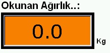 It indicates the values read from the sensors and the desired value is set from this page. Sensörden gelen karışım bilgisi.