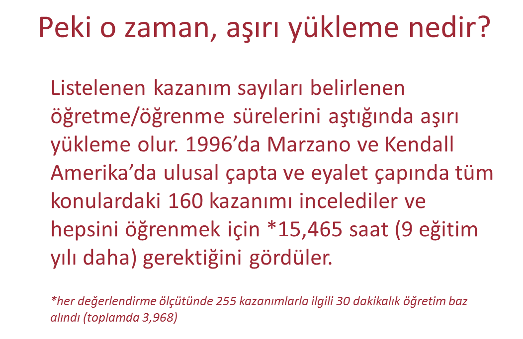 QUIZ TIME! Look at the three content standards below and decide whether they are an overload problem, a Goldilocks problem, or a Nebulous problem? Answers at the bottom of the page. 1. 1. Test Zamanı!