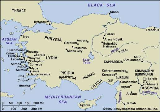 Phrygian Civilization: History Phrygians came from Europe (Thrace) in 1200 BC and seized the control of the region in central Anatolia (Asia Minor) They become dominant power in central