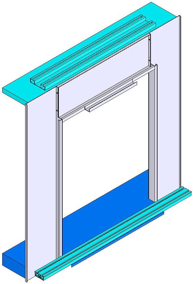 DIMENSIONS OF TROMP AUTOMATIC DOOR TROMP OTOMATİK KAPI ÖLÇÜLERİ DESIGN OF CABIN FRONT FOR (C4C) TROMP AUTOMATIC DOOR (C4C )TROMP OTOMATİK