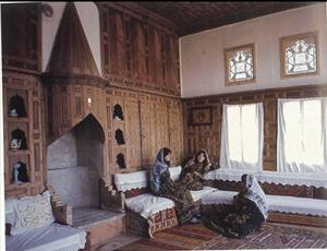 Figure 1. Interior of Traditional Turkish House (Günay,R., 2005,Safranbolu Houses) 4.