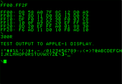Apple-I in program