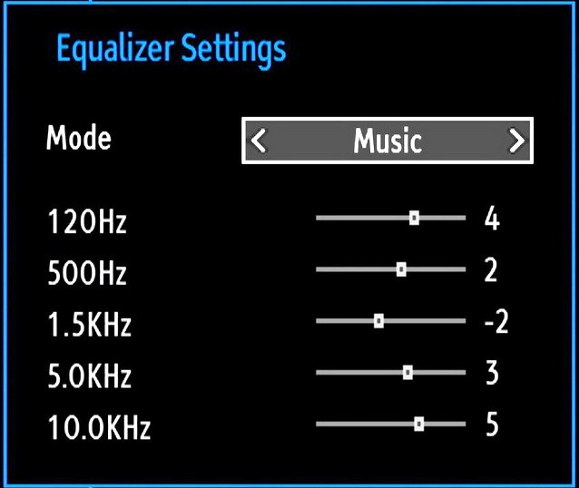 Contrast, Brightness, Colour, Colour Temp and Picture Zoom settings in this menu are identical to settings defined in TV picture menu under Main Menu System.