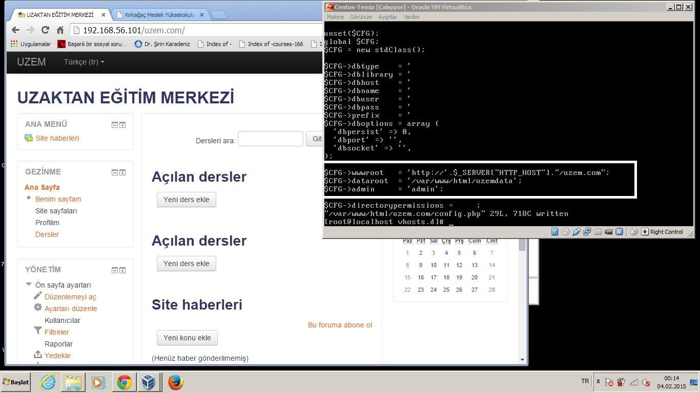 4.Moodle Genel