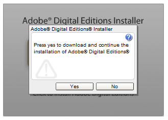 Adobe Digital Editions ın