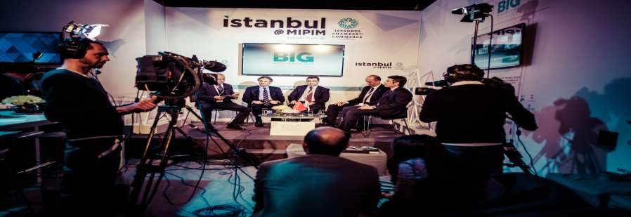 MIPIM DE TÜRKİYE TÜRKİYE 2015 BEYOĞLU BELEDİYESİ PANELİ BLOOMBERG HT CANLI YAYINI İstanbul Çadırında gerçekleşen, Beyoglu, the heart of Istanbul, with the splendors of past and increasing value of