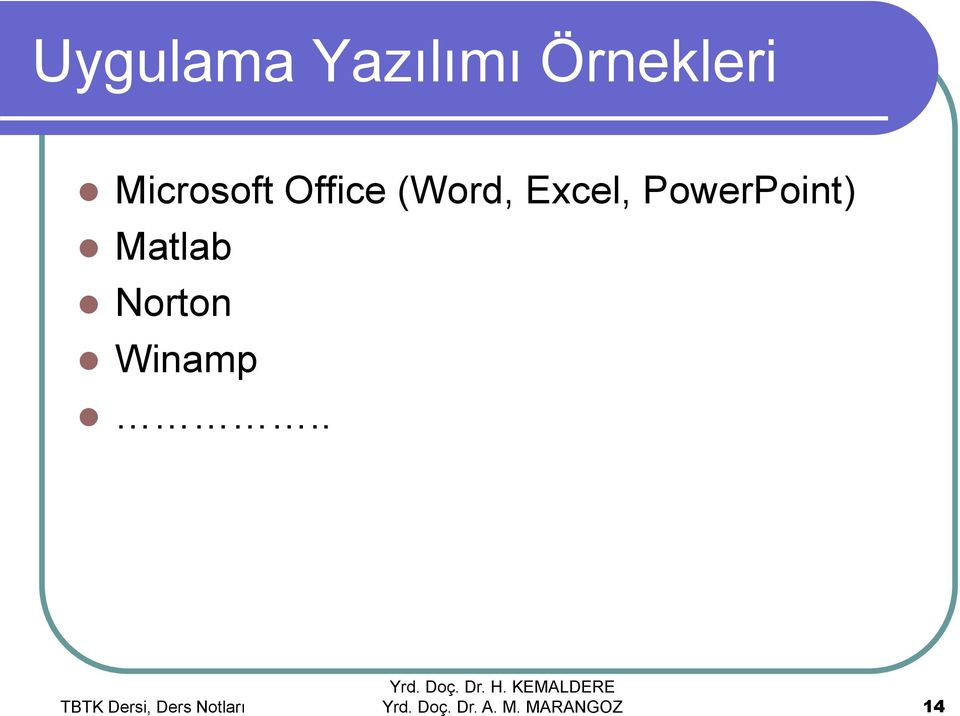 Office (Word, Excel,
