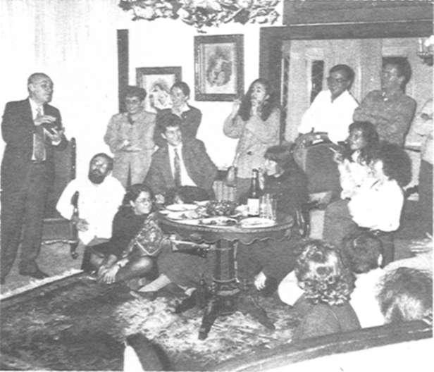 "12, 1989 at Hakan Kôk's house. The participation of ""Munir Aysu Hocarmz"" added a whole new dimension to the night."