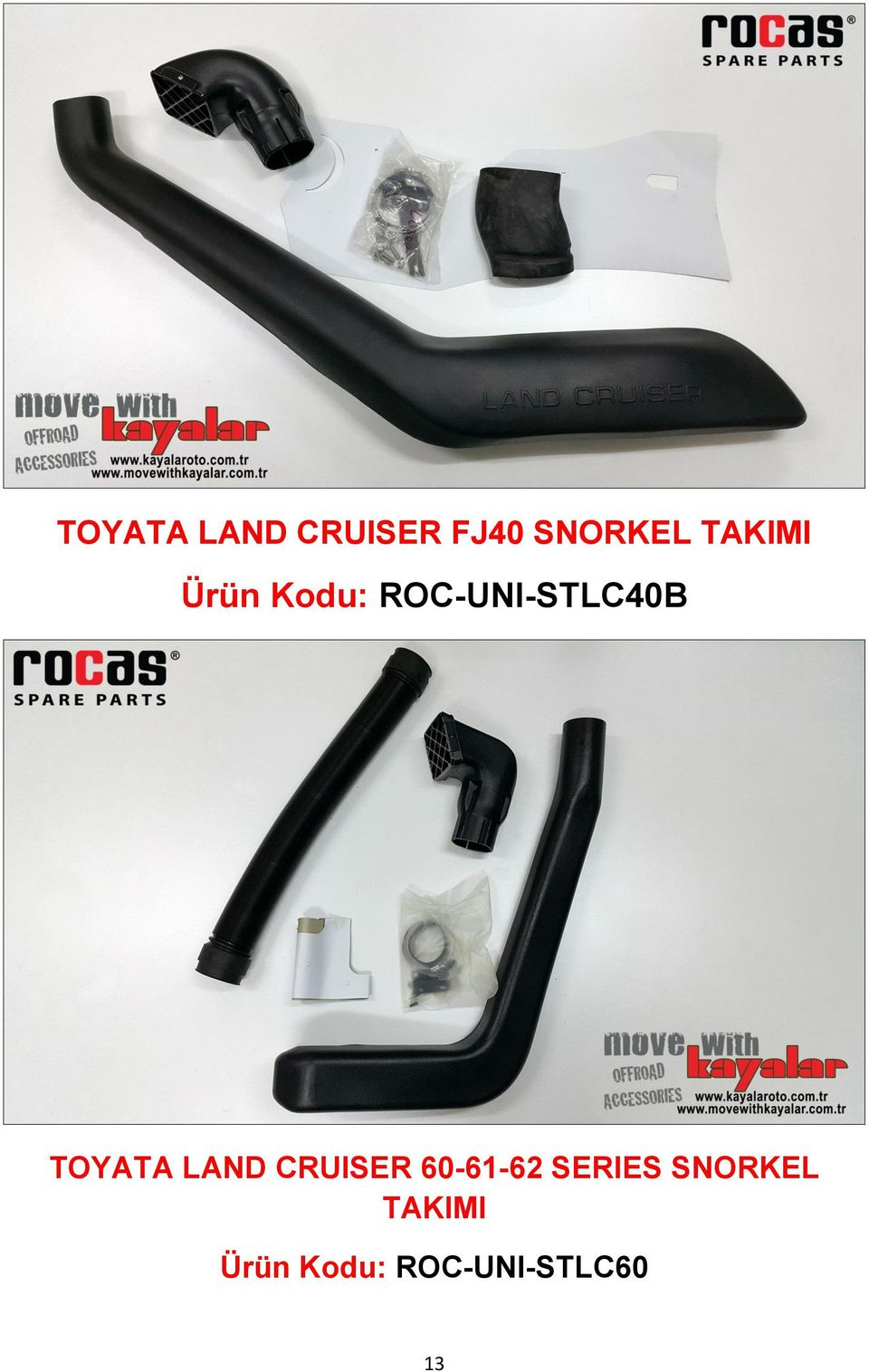 TOYATA LAND CRUISER 60-61-62 SERIES
