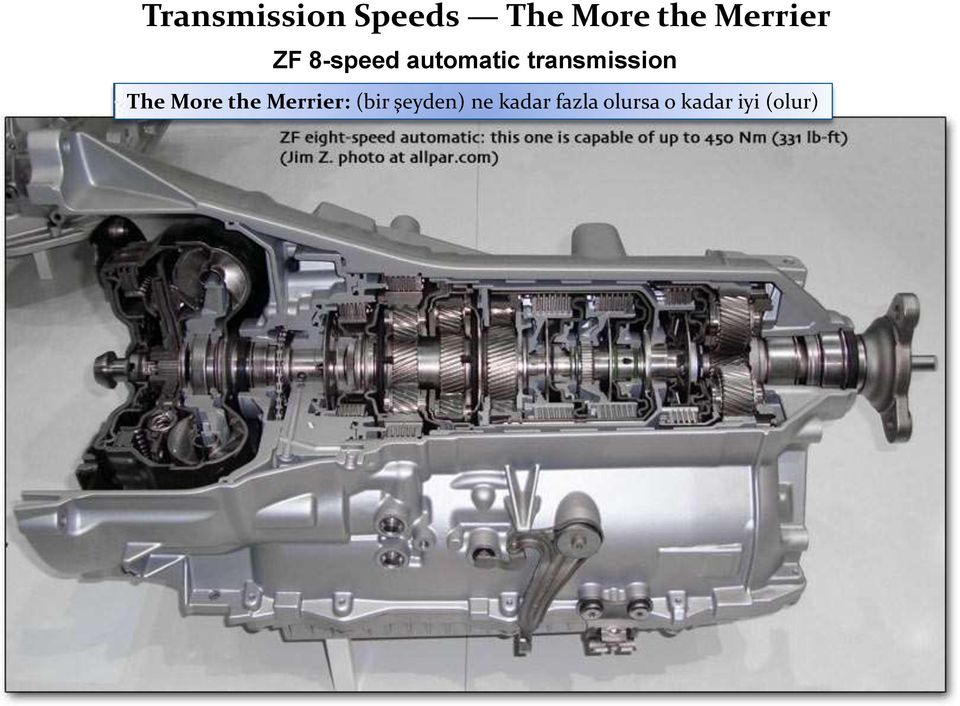 transmission The More the Merrier: