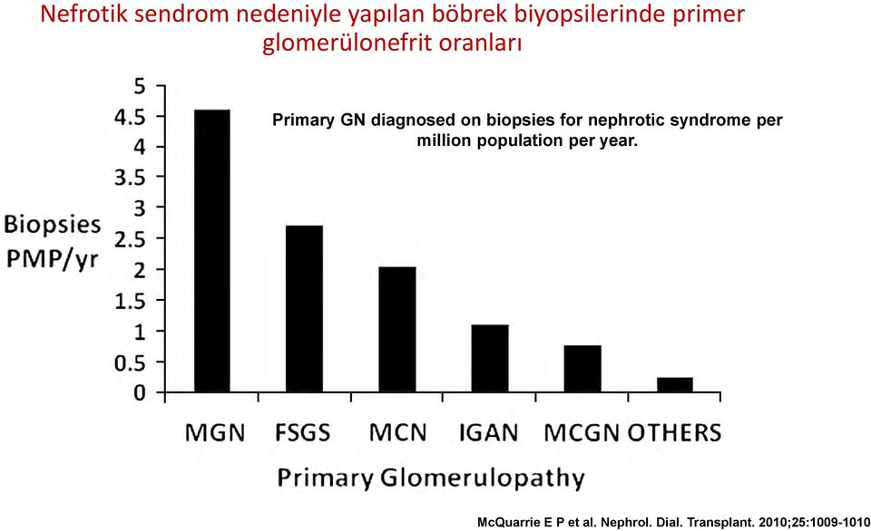 biopsies for nephrotic syndrome per million population per