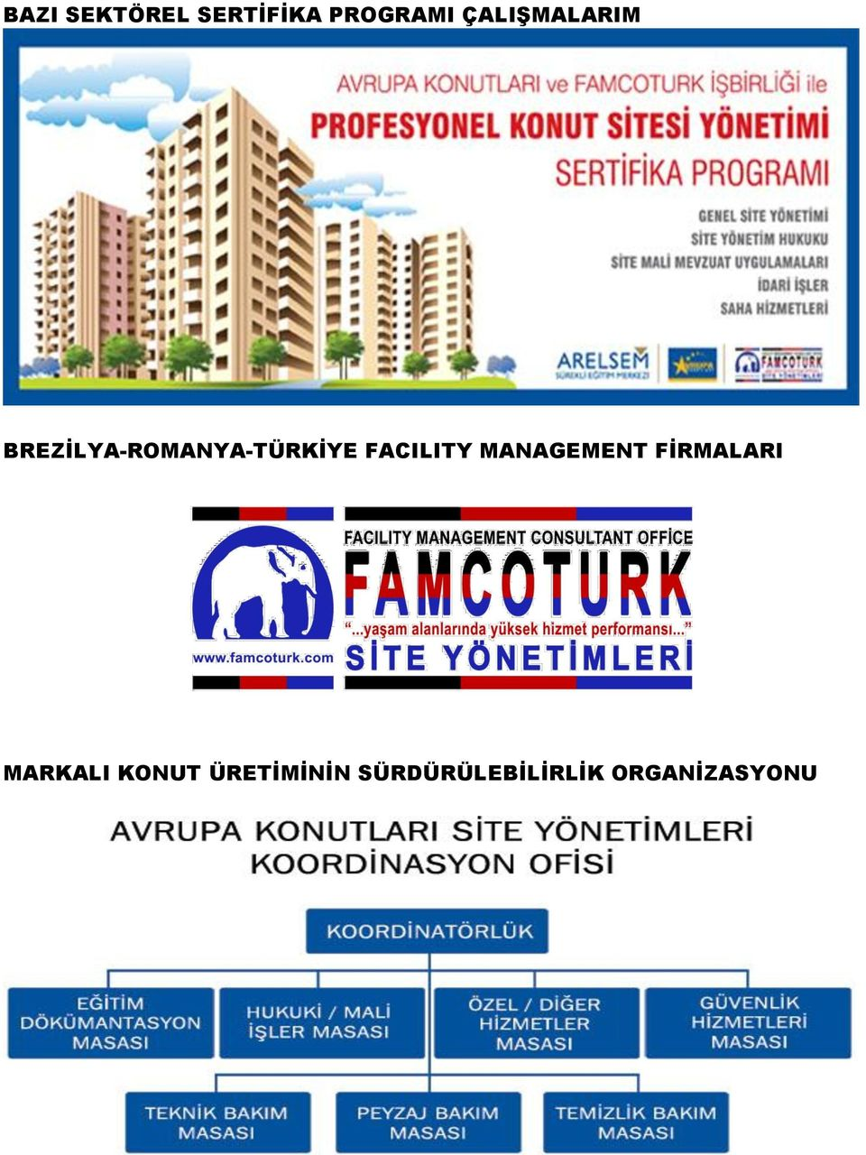 FACILITY MANAGEMENT FİRMALARI MARKALI