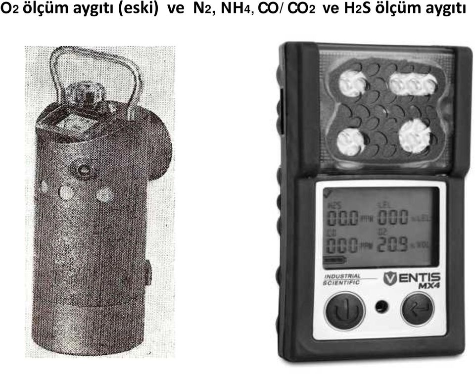 NH4, CO/CO2 ve