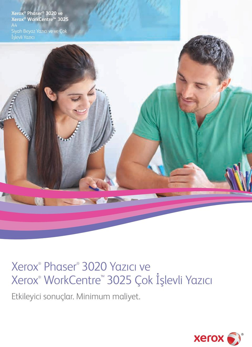 Xerox Phaser 3020 Yazıcı ve Xerox WorkCentre