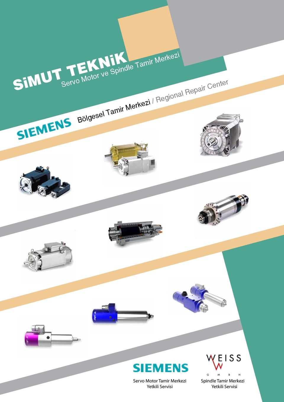 Repair Center Servo Motor Tamir Merkezi