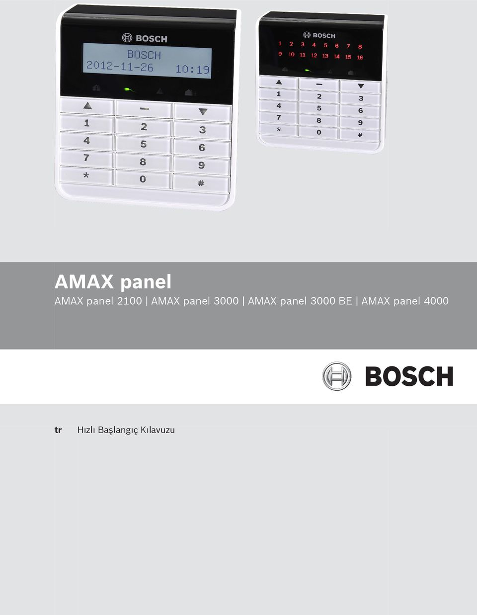 3000 BE AMAX panel 4000 tr
