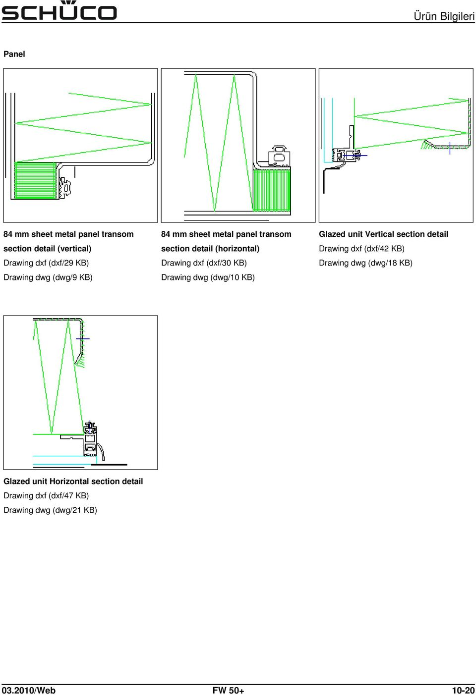 dwg (dwg/10 KB) Glazed unit Vertical section detail Drawing dxf (dxf/42 KB) Drawing dwg (dwg/18 KB)