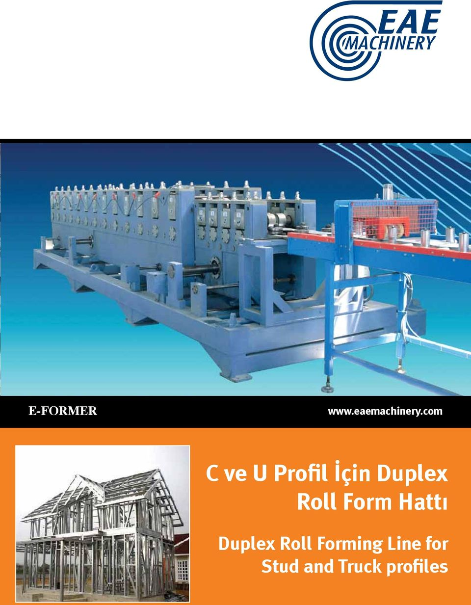 Roll Form Hatt Duplex Roll