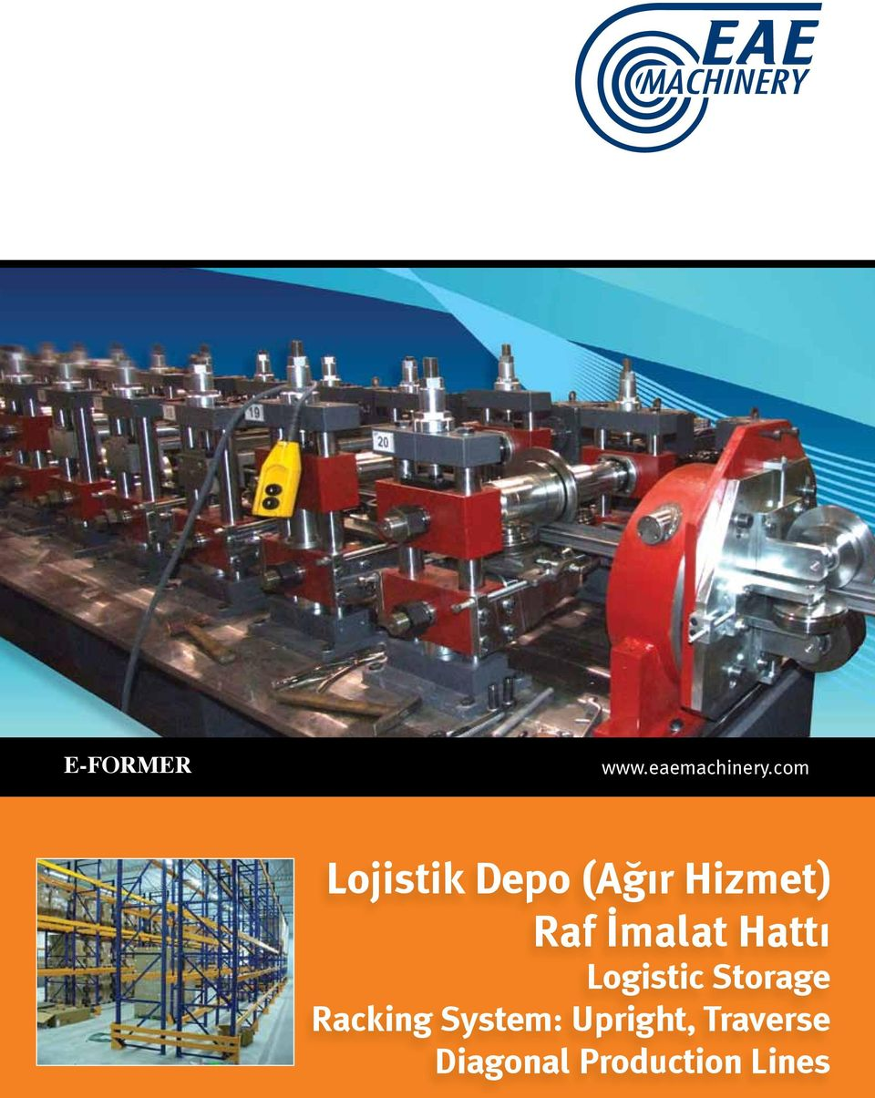 İmalat Hatt Logistic Storage Racking