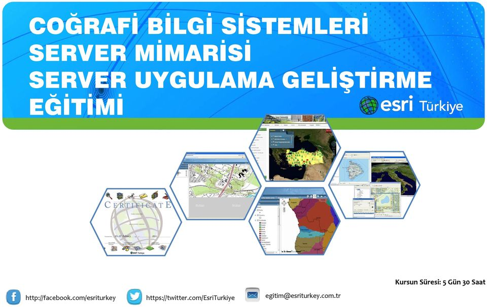 com/esriturkey https://twitter.